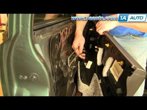 How To Install Replace Door Panel Jeep Grand Cherokee 99 04 1aauto Com Youtube Panel Doors Jeep Grand Cherokee Replace Door