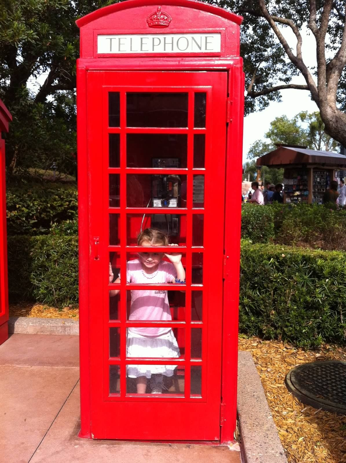 Phone booth - a foreign concept!