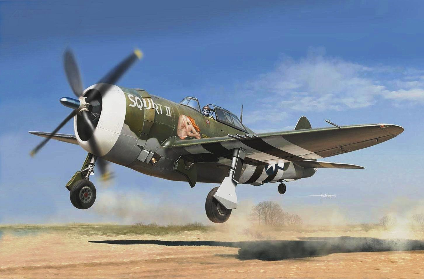 P-47D Thunderbolt 'Squirt II' by Vincenzo Auletta