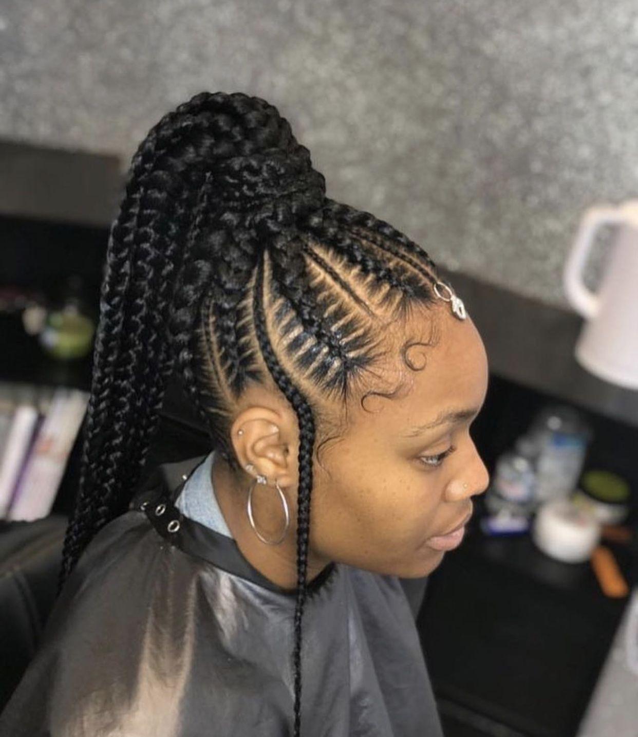 Epingle Par Salimata Konate Sur Coiffure Africaine Idee Coiffure Cheveux Crepus Coiffure Braids Coiffure
