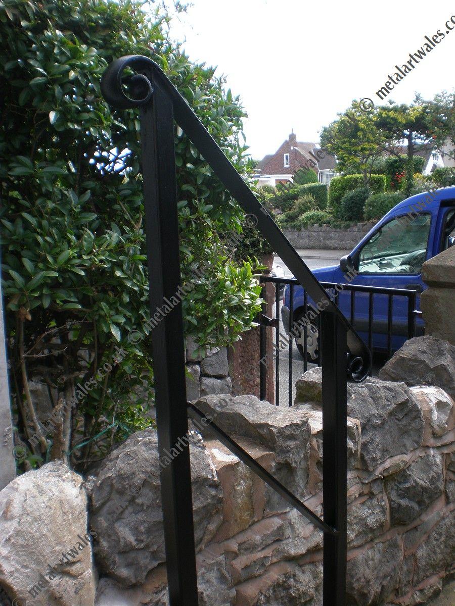 Metal art wales railings and balconies shoe shop interior