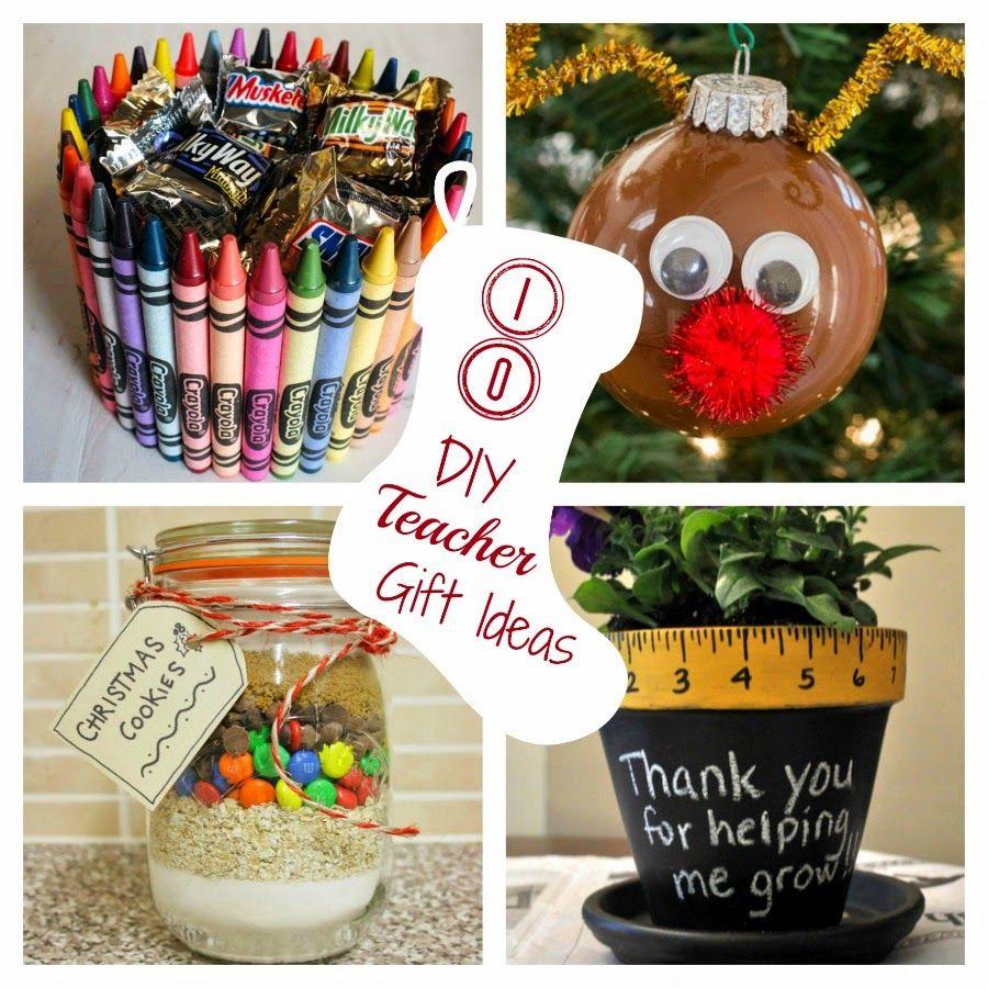 Round-Up Monday--10 DIY Teacher Gift Ideas