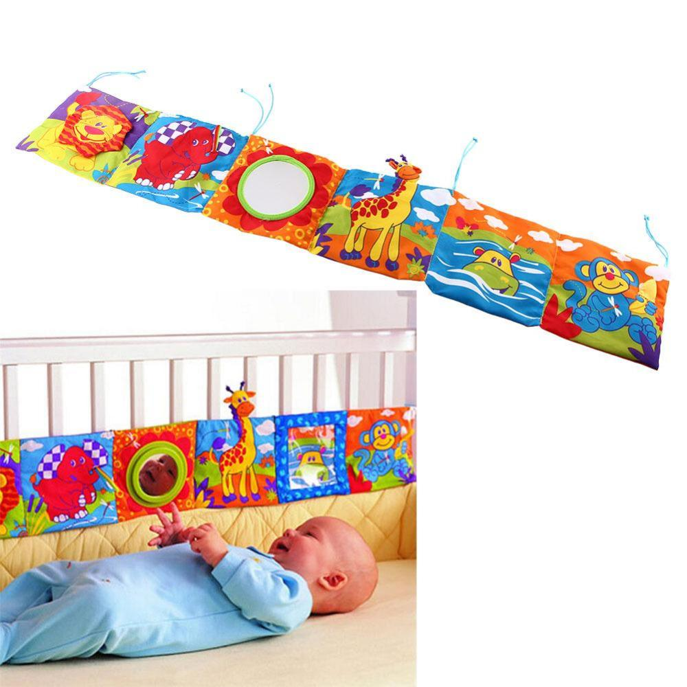 Bumpers Cartoon Animal Super Cute Around Multi-touch Multifunction Double Color Colorful Bed Bumper Fun Toys