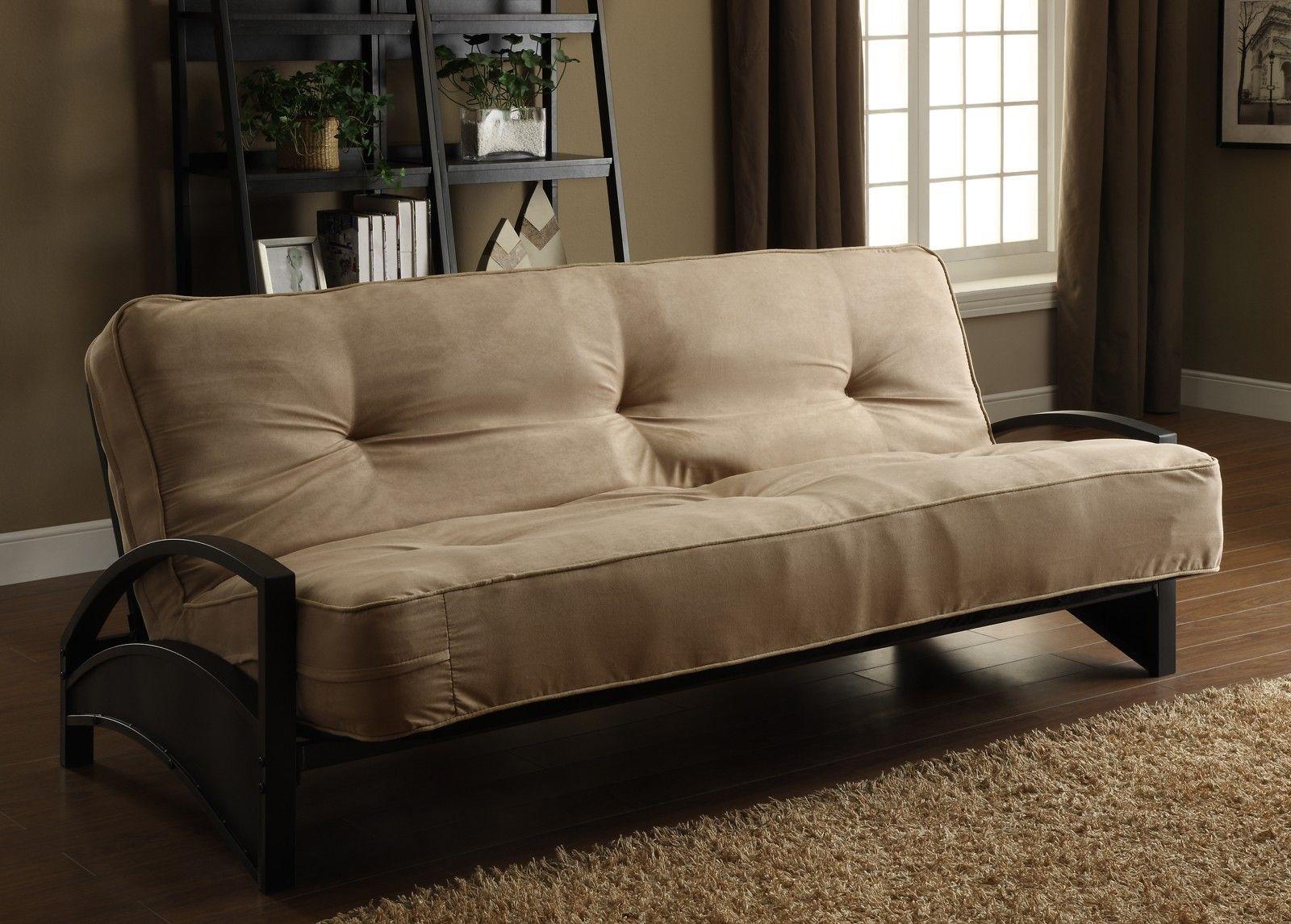 Alessa Metal Futon Frame Metal futon, Futon frame, Sofa