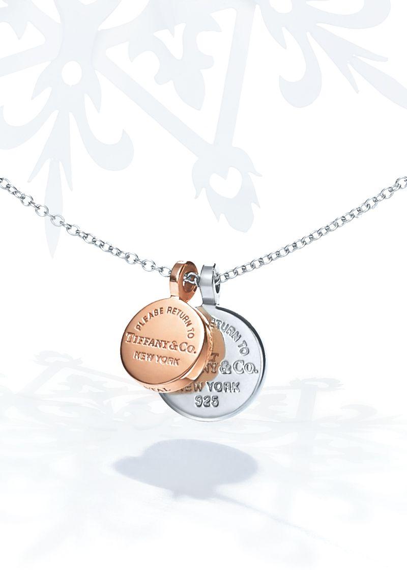 955ce6d3c9233 Return to Tiffany®:Circle Duo Pendant | Happy Holidays from Tiffany ...