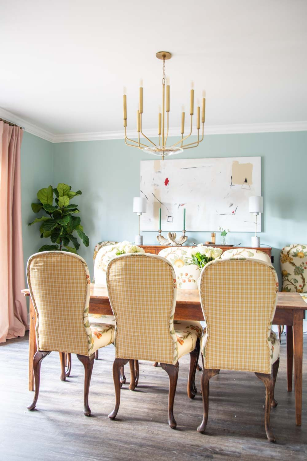 Favorite Paint Colors Of Instagram Dining Room Blue Dining Room