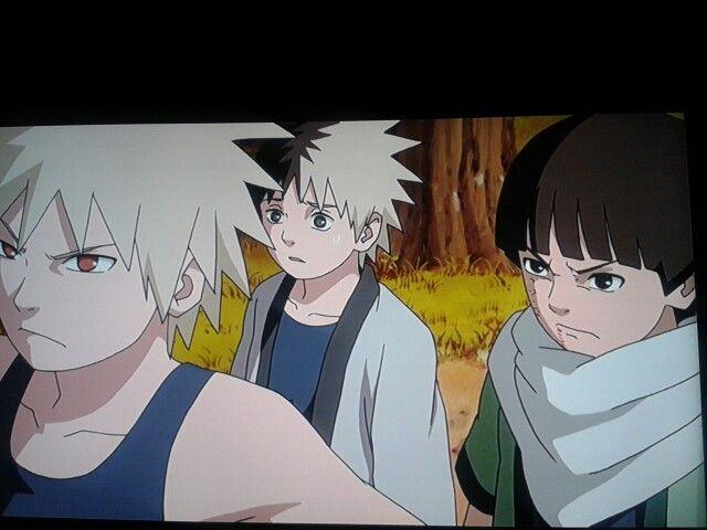 Senju Kids Hashirama Tobirama And Itama Anime Naruto Kids