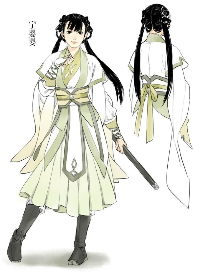Ning Yingying Villain character, Female character design