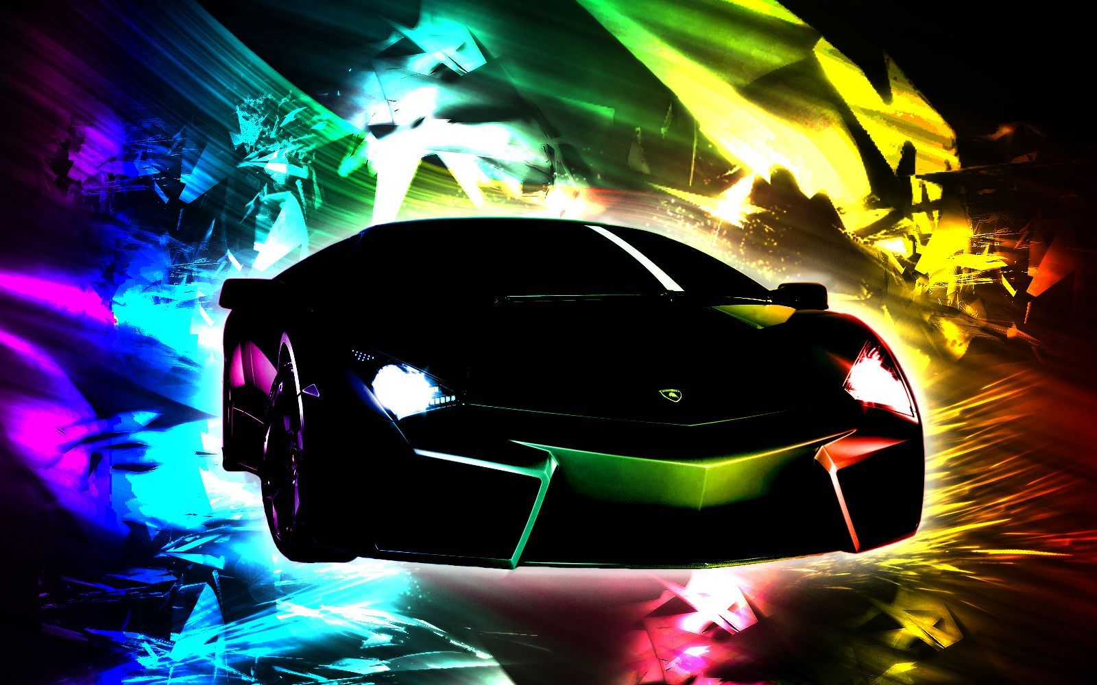 Rainbow Cool Lamborghini Wallpapers Sports Car Wallpaper