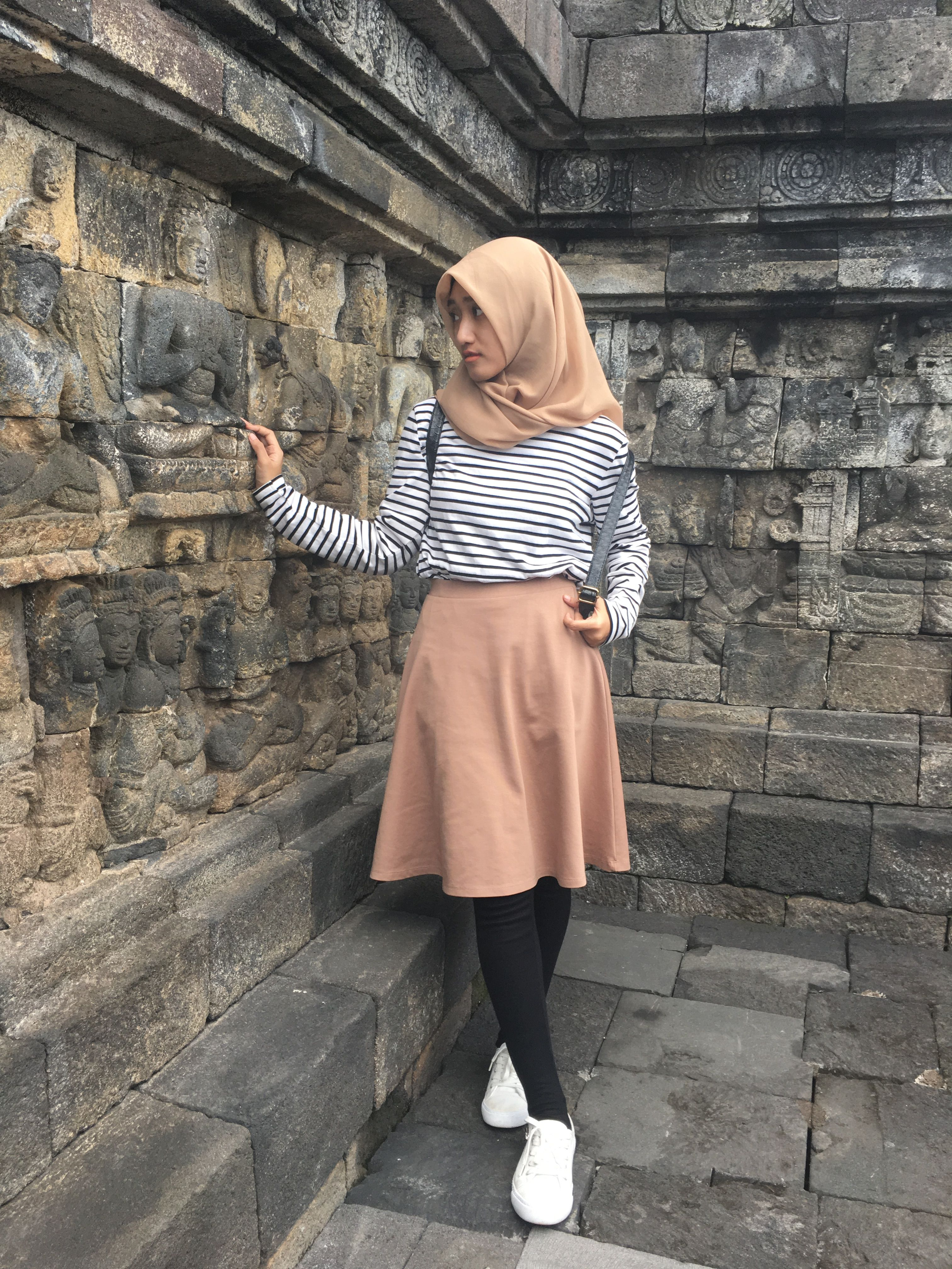 Mini Skirt With Legging For Hijab Style Model Pakaian Muslim Model Pakaian Hijab Model Pakaian
