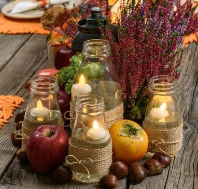 Herbstdeko aus Naturmaterialien selber machen: 33 tolle und ganz einfache Ideen #falldecorideas