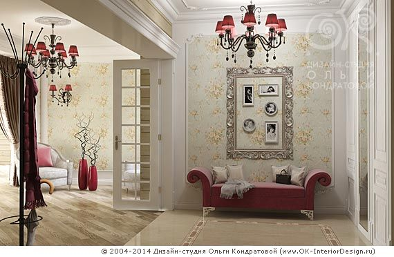 3D дизайн прихожей в загородном доме - http://www.ok-interiordesign.ru/ph26_design-interyera-prihozhey.php