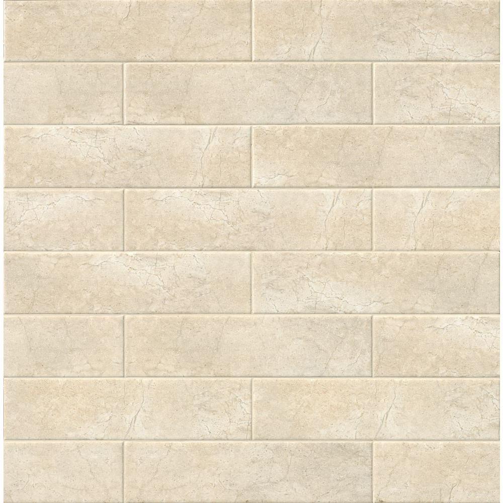 Msi marmi crema beige 4 in x 16 in glazed ceramic wall tile msi marmi crema beige 4 in x 16 in glazed ceramic wall tile dailygadgetfo Choice Image