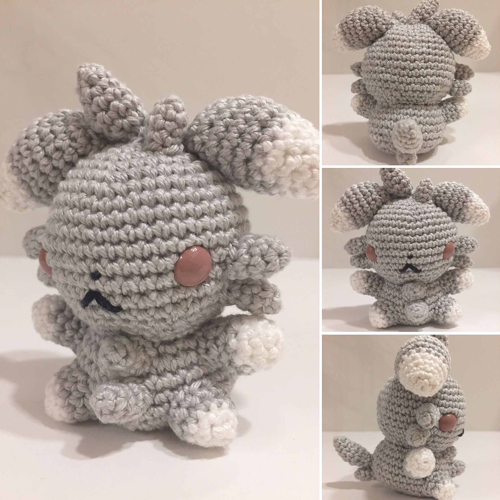Psiau / Espurr häkeln / crochet | Crochet | Pinterest | Selfmade