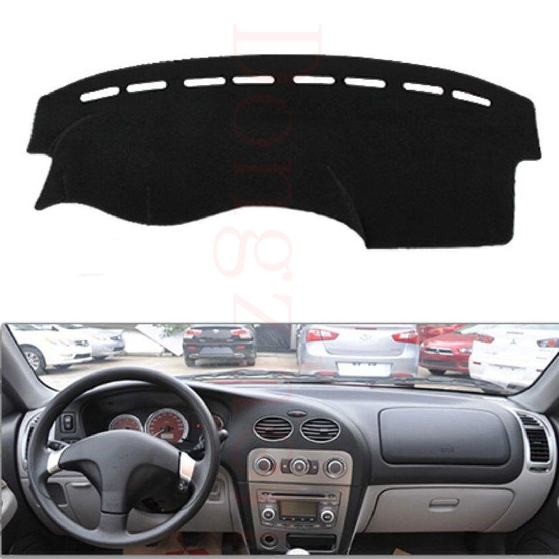 black sun carpet fiber type vehicle dashboard car mats cover polyester dash itm mat