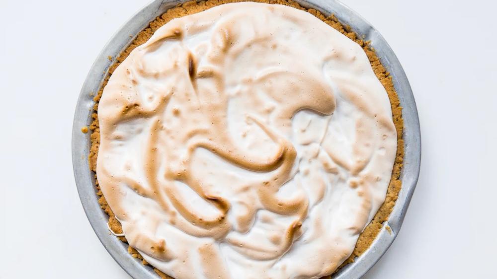 Lemon Marshmallow Pie Recipe