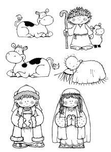 Desenho Para Colorir E Montar Nascimento De Jesus Christmas
