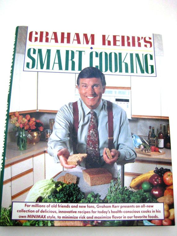 Graham Kerr's Smart Cooking Cookbook  Signed Copy by TooTooKute, $14.00