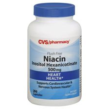 Cvs niacin capsules 500 mg vitamins minerals oils for Cvs fish oil