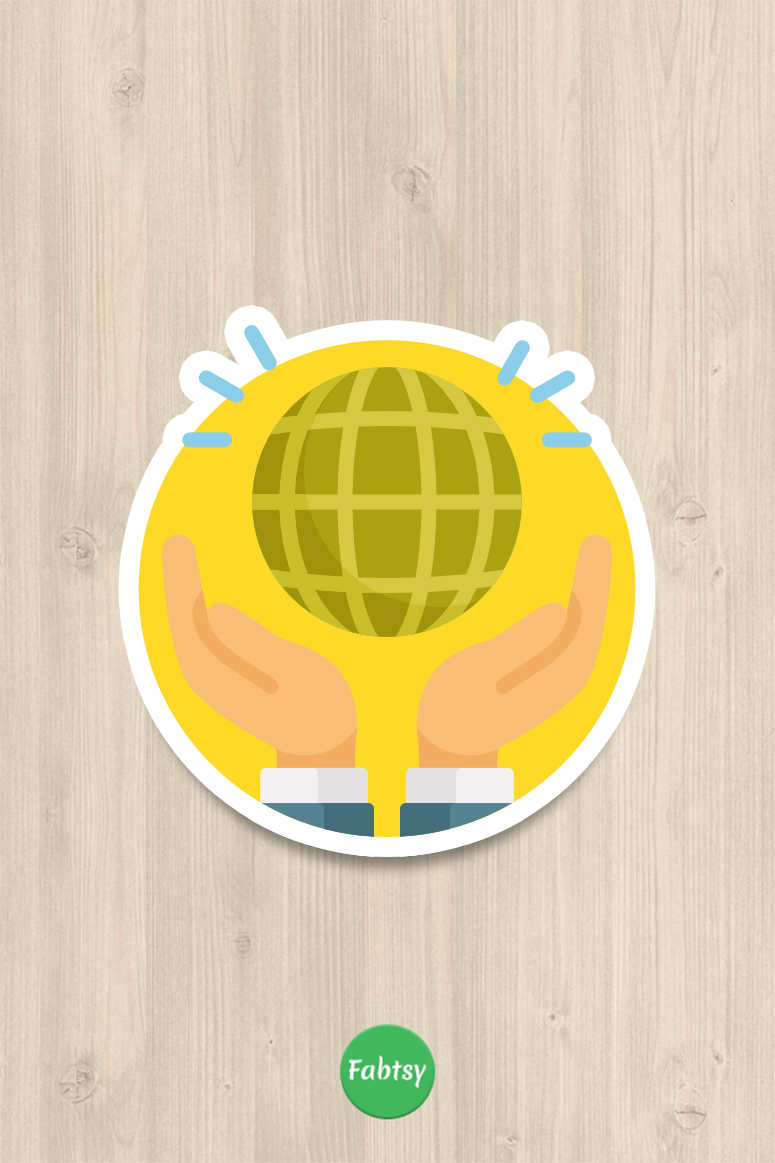 Earth stickers earth magnets are cheap home decor ideas fabtsy