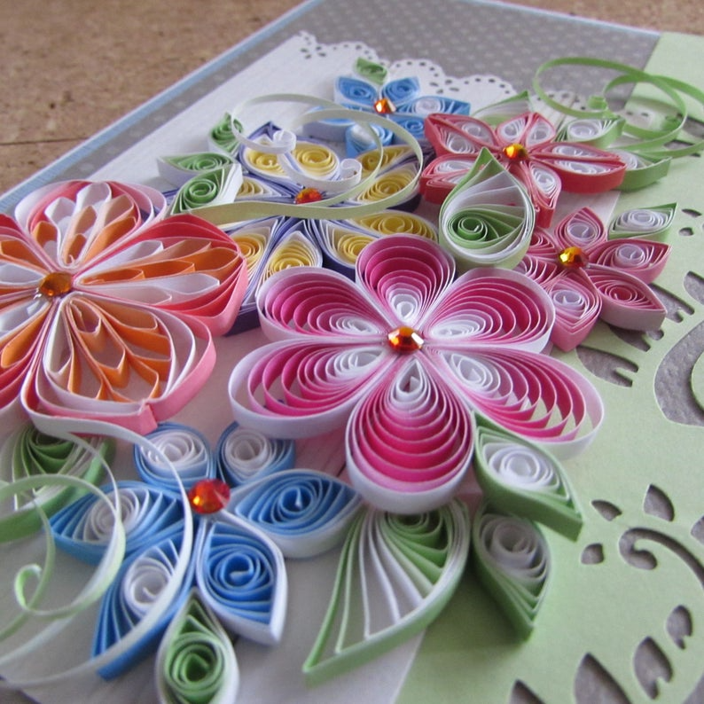 quilling instruction sheet in 2020  paper quilling for