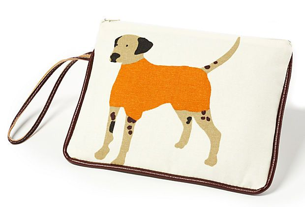 For all my dog loving buddies...how cute is this...finally a treat bag with style.
