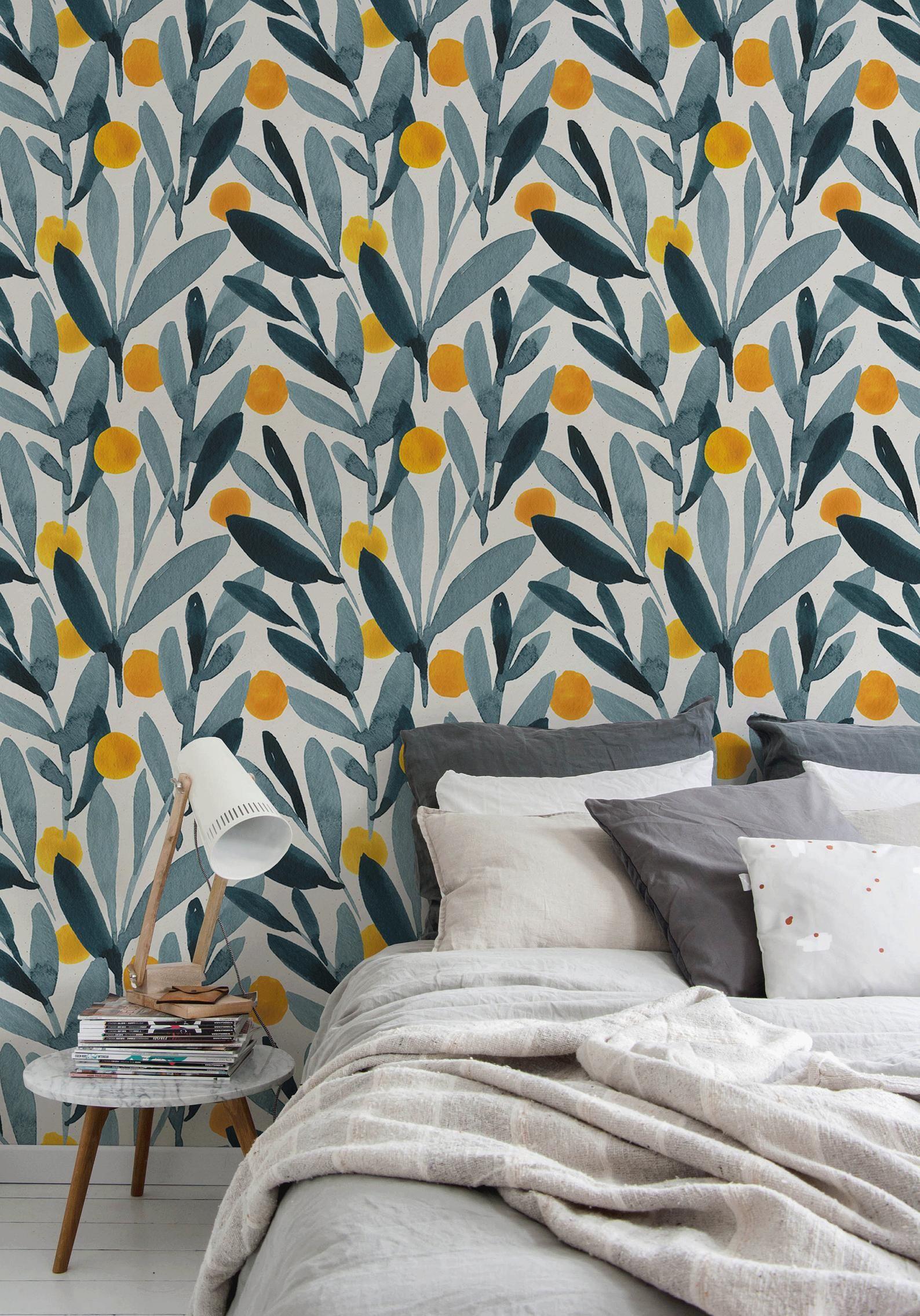 Removable Wallpaper Scandinavian Wallpaper Temporary Etsy Scandinavian Wallpaper Removable Wallpaper Temporary Wallpaper
