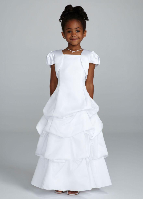 Flower girl dress my future wedding pinterest satin