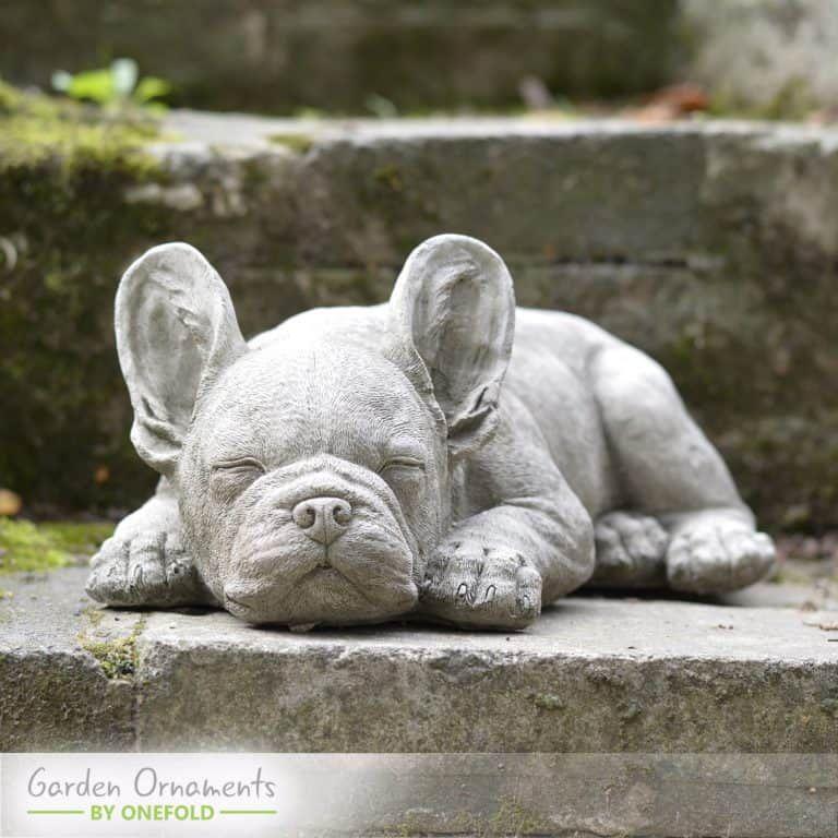 Garden Ornaments Stone Sculptures Statues Onefold Stone Sculpture Bulldog Statue Sculptures Statues