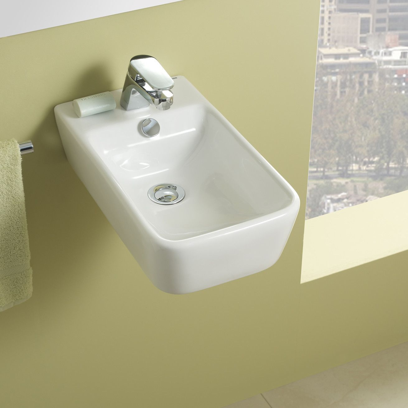Bissonnet Emma Small Ceramic Bathroom Sink & Reviews  Wayfair New Wayfair Bathroom Sinks Inspiration