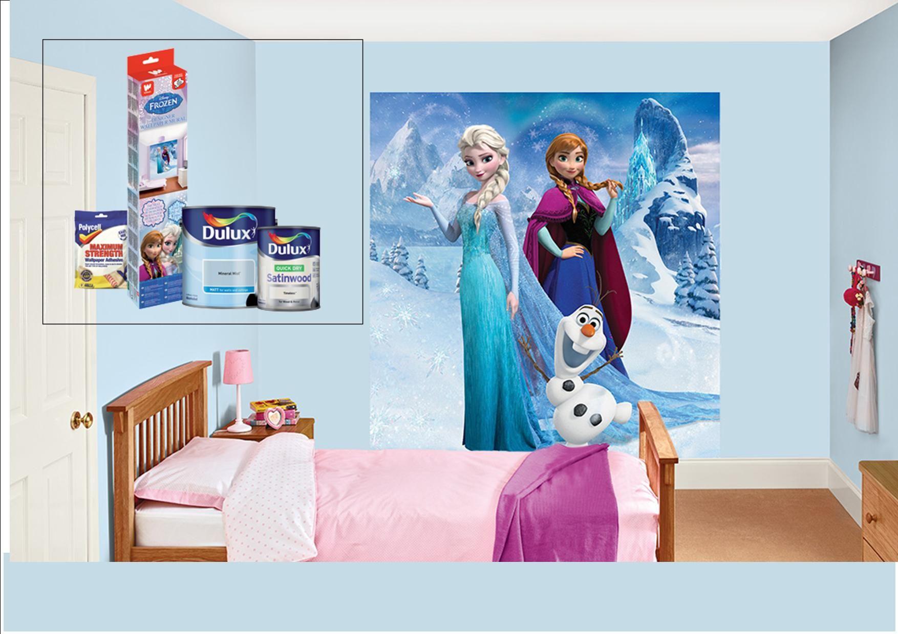 disney frozen bedroom in a box   design ideas 2017-2018 ...