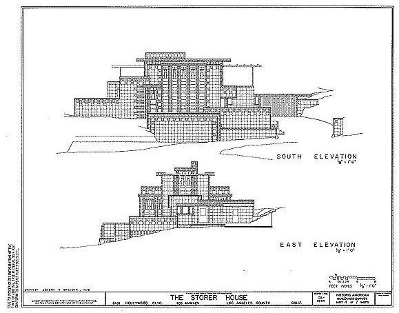 Floor Plans, courtesy of the Liry of Congress - Storer ... on