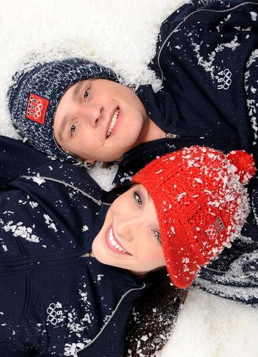 Meryl Davis and Charlie White, American Olympic and world ice dance champions