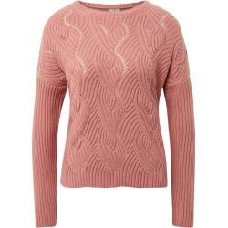 Photo of Tom Tailor women's sweater with structure pattern, pink, plain-colored, size xxl Tom TailorTom Tailor