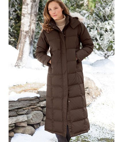 Ultrawarm Down Coat | Long winter