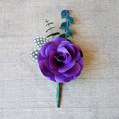 The Craftinomicon: DIY Boutonnieres