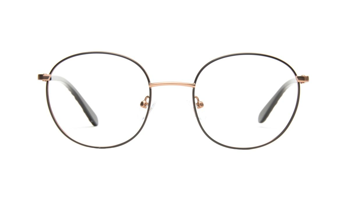 Joy Black copper - Slightly-oversized, round shaped and timelessly sophisticated, this frame brings some joy to every and any outfit.
