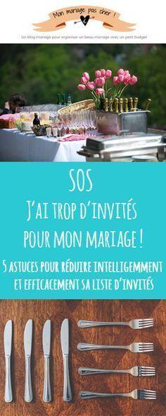 4 astuces pour réduire sa liste dinvités et économiser sur son budget réception de mariage
