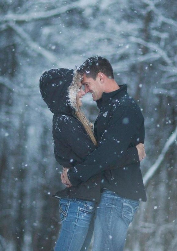 49 Best Winter Engagement Photo Ideas – ADDICFASHION