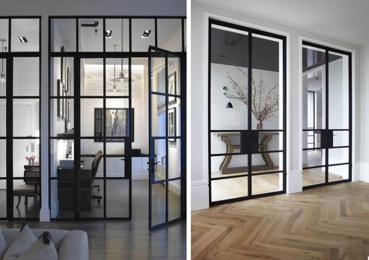 Puertas y ventanas industriales decoraci n industrial for Puertas para cocinas industriales