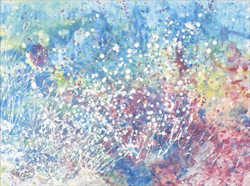 世界中が注目!5歳の自閉症の女の子の描く絵が幻想的で美しい【イギリス】 | Amp.