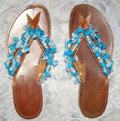 Χειροτεχνημα - Handmade: Σαγιοναρες - Sandals