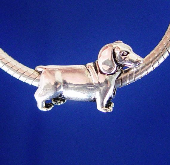 2f7de4ef9 Can Order to Fit Pandora Bracelet- Dachshund Puppy Weiner Wiener Hot Dog  Doxie European by rbargains, $9.75