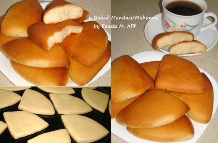 Baked Mandazi/Mahamri | Fauzias Kitchen Fun