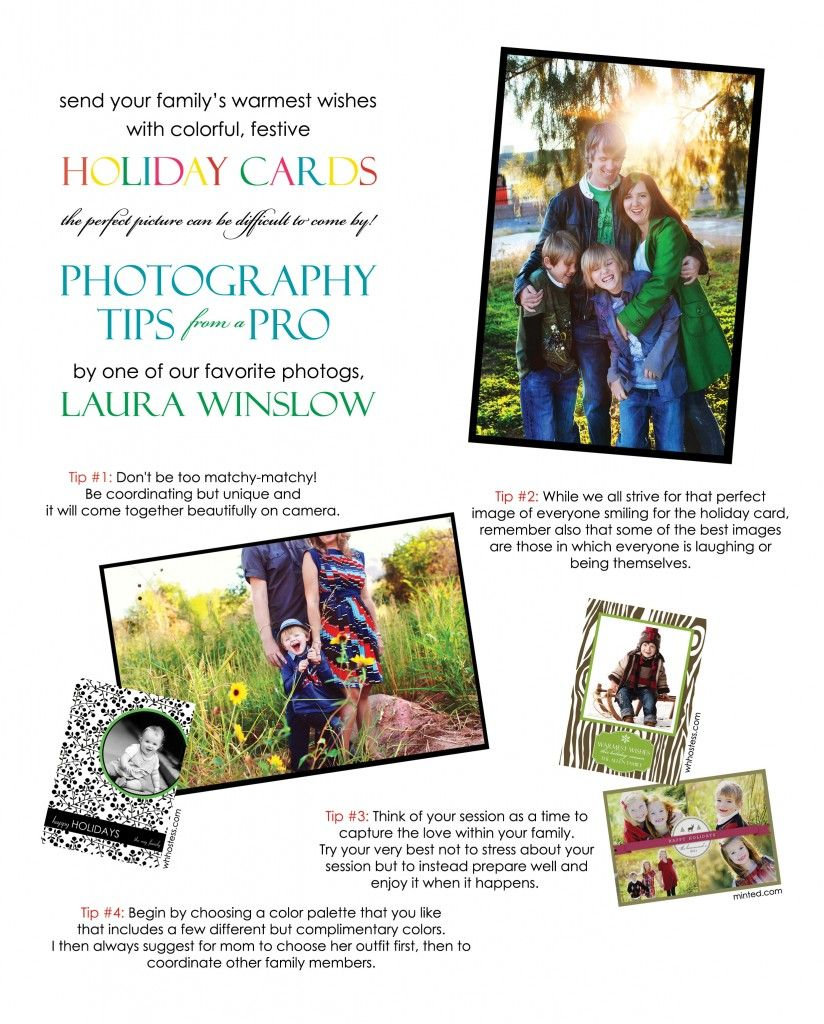tips for holiday pictures  from @Laura Winslow