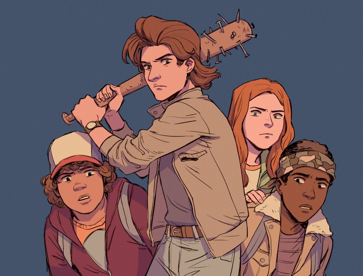 Babysitter Of The Year Stranger Things Art Stranger Things Fanart Stranger Things