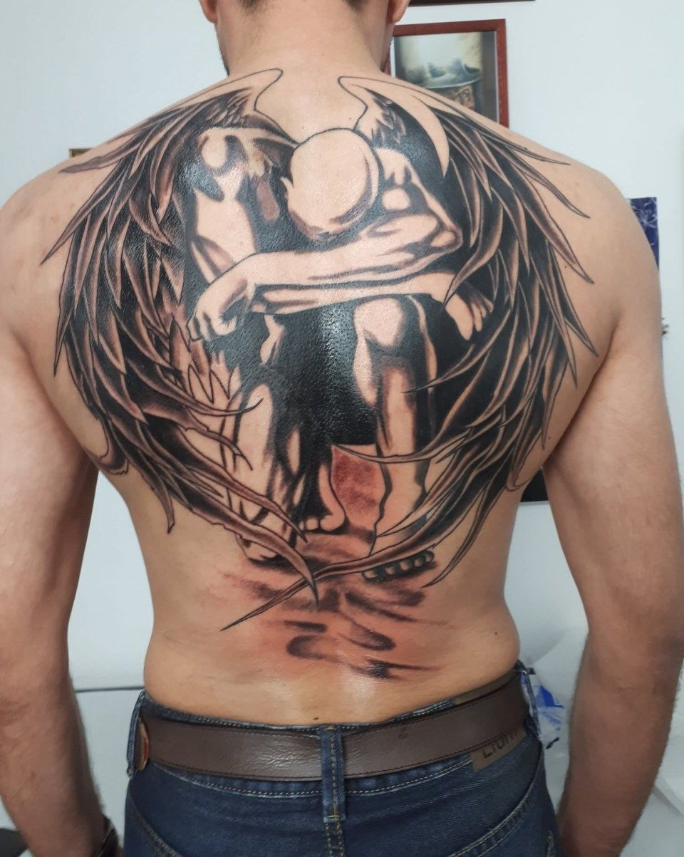 Photo of 10 Facts That Nobody Told You About Fallen Angel Tattoo Ideas   Fallen Angel Tat…