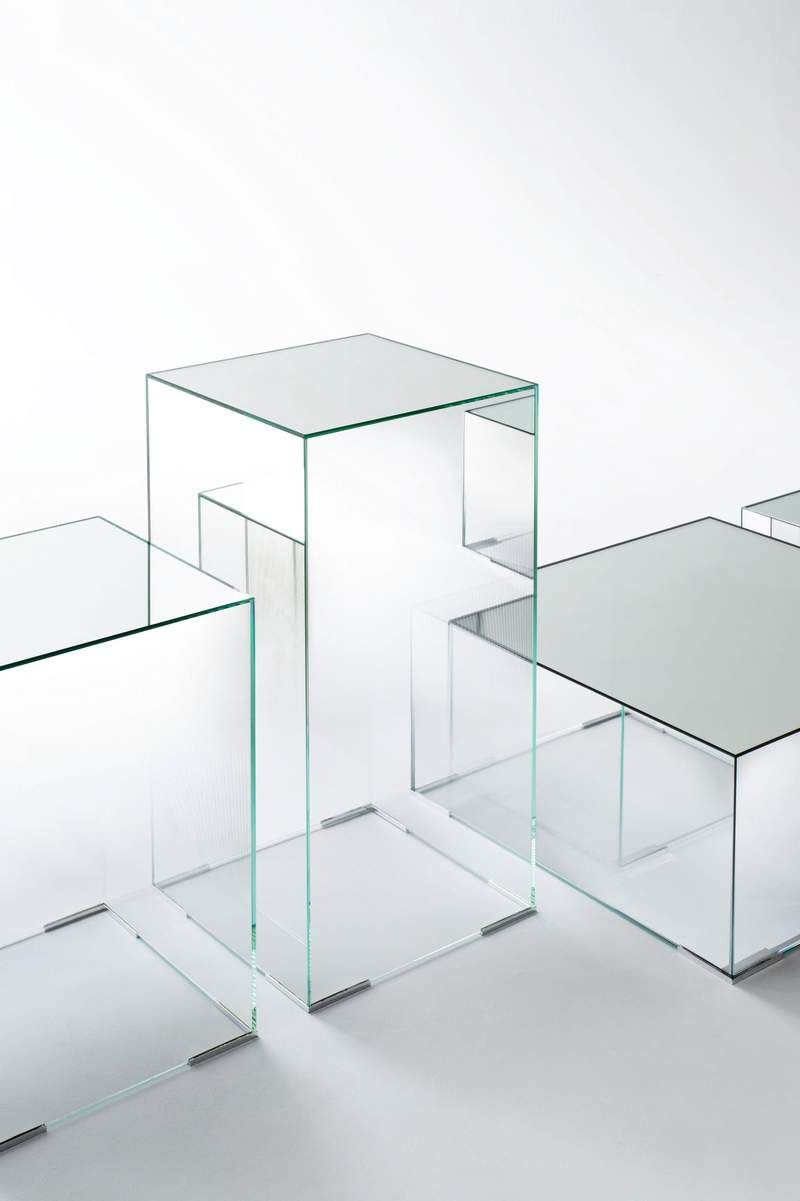 Brass And Glass Cube Side Tables Glass Cube Cube Side Table Cube Coffee Table [ 986 x 1280 Pixel ]