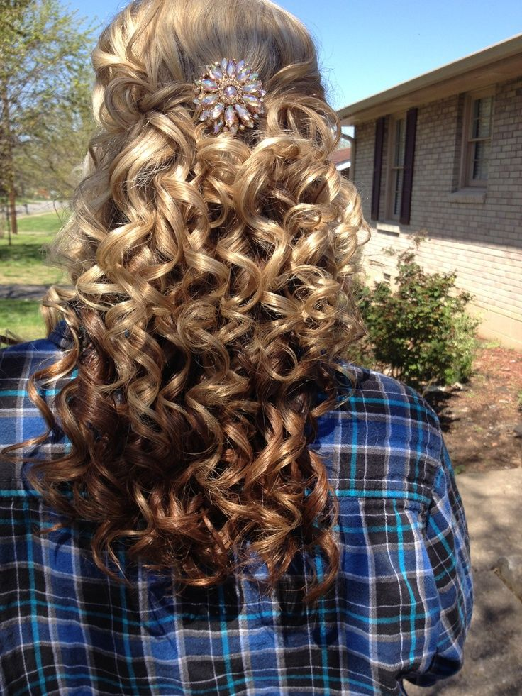 curly hair style ideas hairstyle hair prom hairstyle homecoming hairstyle hair 4531 | 4cbfcf3c81f5f8eb4531f28d90a8fdd6