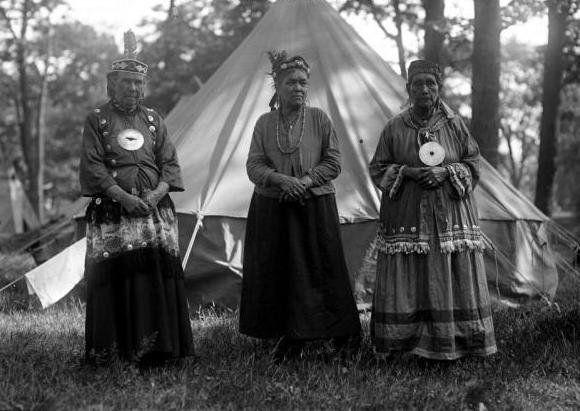 Susie Neptune, unknown, unknown, at Deering Oaks Park in Portland, Maine - Passamaquoddy – 1920